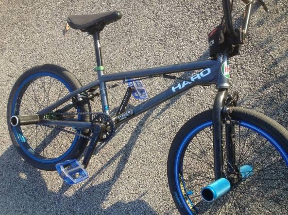 Flatland bike